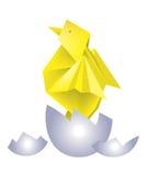 鸡蛋origami 库存例证