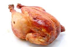 鸡酥脆烘烤 免版税库存照片