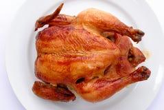 鸡酥脆烘烤 库存图片