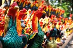 鸡雕象 库存图片