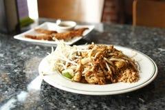 鸡面条填充泰国 免版税库存照片