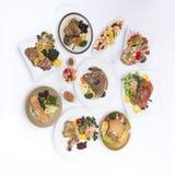 鸡食物国际米 免版税图库摄影