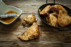 鸡香料 免版税库存照片