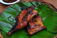 鸡Inasal (烤鸡) 免版税图库摄影
