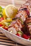 鸡kebab 图库摄影