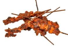 鸡kebabs 库存照片