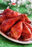 鸡tandoori 库存图片