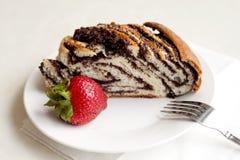 鸦片蛋糕 免版税图库摄影