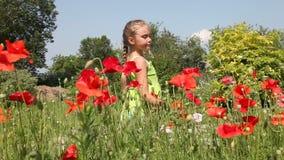 鸦片领域的小女孩 影视素材