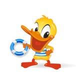 鸭子例证水手 向量例证