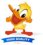 鸭子例证质量 向量例证