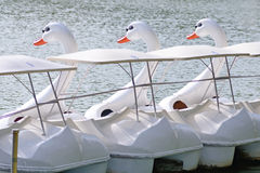 鸭子小船 免版税图库摄影