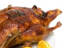 鸭子烘烤 免版税图库摄影