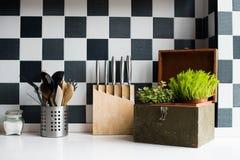鸭子表单厨房精密支持器物 库存照片