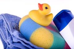 鸭子黄色 免版税库存照片