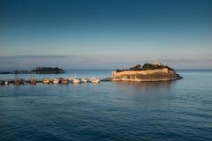 鸽子海岛 库存照片