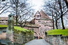 鹅卵石和城堡 库存照片