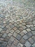 鹅卵石在布拉格 免版税图库摄影