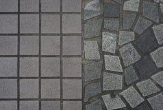 鹅卵石地板 图库摄影