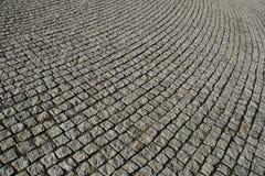 鹅卵石纹理走道 库存图片