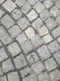 鹅卵石街道 库存图片