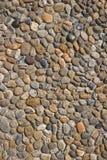 鹅卵石路纹理 免版税库存图片
