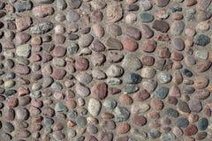 鹅卵石路面纹理背景 库存照片