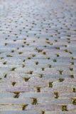 鹅卵石路面 免版税库存照片