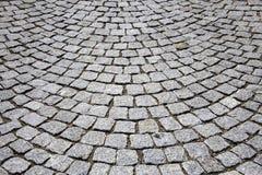 鹅卵石路面 免版税图库摄影