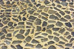 鹅卵石路 库存图片