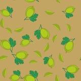 鹅莓动画片无缝的纹理655 向量例证