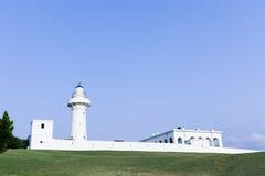 鹅鸾鼻灯塔,在台湾南部 库存图片