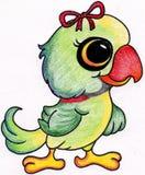 鹦鹉图画 免版税图库摄影