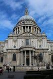 鹪鹩的圣保罗的大教堂 图库摄影