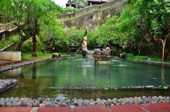 鹰报Wisnu Kencana文化公园,巴厘岛印度尼西亚 图库摄影