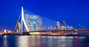 鹿特丹地平线 库存图片