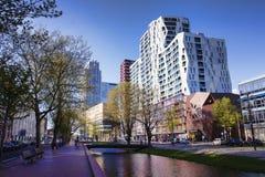 鹿特丹大厦 免版税库存照片