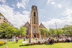 鹿特丹市在荷兰 免版税图库摄影