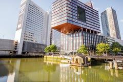 鹿特丹市在荷兰 库存照片