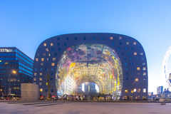 鹿特丹市场霍尔 库存照片