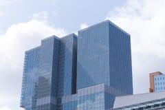 鹿特丹摩天大楼 免版税库存图片