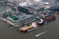 鹿特丹港  免版税图库摄影