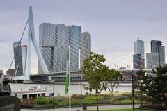 鹿特丹,荷兰- 8月18日:鹿特丹是城市方式 库存图片