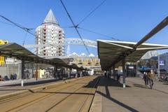 鹿特丹Blaak火车站 免版税图库摄影