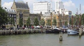 鹿特丹veerhaven 免版税库存照片