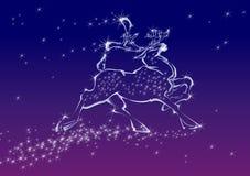 鹿童话 免版税图库摄影