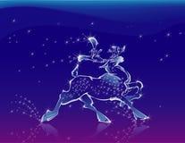 鹿童话 免版税库存照片