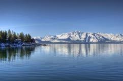 麋湖点tahoe 库存照片