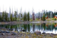 麋湖10月 图库摄影