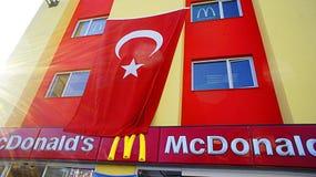 麦克唐纳在土耳其 库存图片